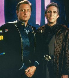 Babylon 5 - John Sheridan and Jeffrey Sinclair