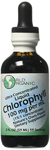World Organic Corporation, based in Huntington Beach, California introduces a new earth-friendly super concentrated Liquid Chlorophyll, adding to their already famous chlorophyll products.The new item is a 15:1 Liquid Concentrate with 100mg of chlorophyll in 1ml rather than their top selling... more details at http://supplements.occupationalhealthandsafetyprofessionals.com/herbal-supplements/chlorophyll/product-review-for-ultra-concentrated-liquid-chlorophyll-2-ounces/