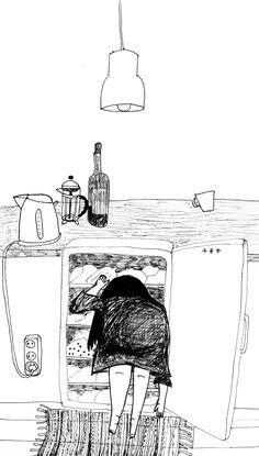 Rikke Bakman - danish illustrator