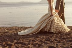 i'm going to get married again just for this dress. and the beach. and maybe the right man next time. BWA! j/k