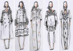 эскизы моделей A La Russe