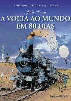 Júlio Verne - A volta ao mundo em 80 dias (HQ)*****