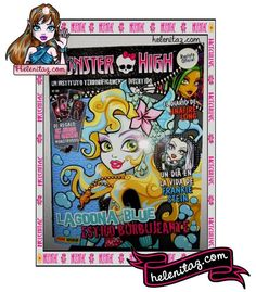 Revista Monster High Nº 20 – Mayo de 2013 – Panini España  /  http://helenitaz.com/2013/05/revista-monster-high-no-20-mayo-de-2013/01/