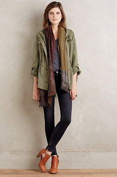 Mcguire inez skinny jeans - casual outfits с Outfits Otoño, Casual Outfits, Estilo Fashion, Casual Chic, Autumn Winter Fashion, Style Me, Gypsy Style, What To Wear, Personal Style