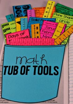 Math Tools for Reference! - Tunstall's Teaching Tidbits