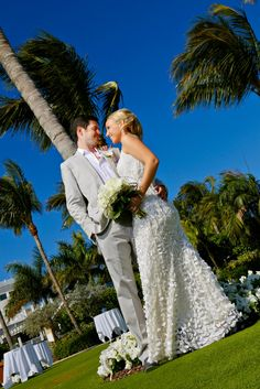 Congrats to Brian & Jennifer, married earlier this year at Kings Crown, South Seas Island Resort
