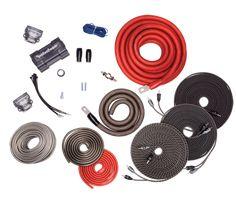 Rockford Fosgate AWG Copper Dual Amplifier Wiring Kit w/ Power Wire American Wire Gauge, Speaker Wire, Speakers, Twisted Pair, Power Wire, Rockford Fosgate, Kit, Car Audio, Gauges