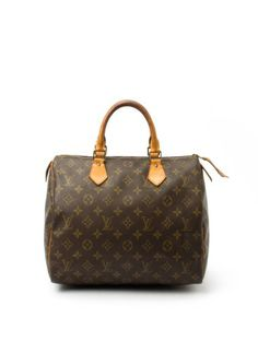 LOUIS VUITTON _ MONOGRAM CANVAS SPEEDY 30 _ NEW AND PRE-OWNED LUXURY HANDBAGS WATCHES AND JEWELLERY _ FIFTH & _FIFTH AND LUXURY