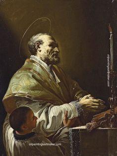 Corrado Giaquinto Saint-Philip Neri, painting Authorized official website