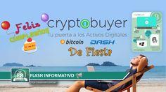 Flash Informativo: En Cryptobuyer celebran su Cumpleaños por todo lo alto 🍰🎁🎉🎈 | EspacioBit -  https://espaciobit.com.ve/main/2017/07/07/flash-informativo-en-cryptobuyer-celebran-su-cumpleanos-por-todo-lo-alto/ #Cryptobuyer #Cumpleaños #ATM