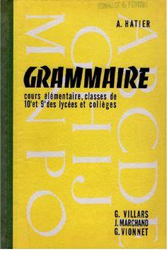 Villars, Marchand, Vionnet - Grammaire CE