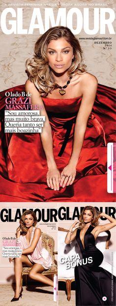 Grazi Linda Na Glamour De Dezembro!