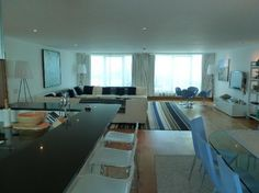 St. Moritz Hotel: Lounge area Apartment 203