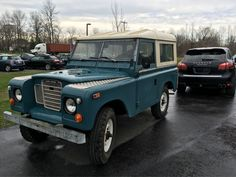Fresh off the truck! 1974 Land Rover Series III. For Sale @genevaforeign #gfsnewarrival