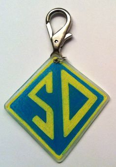 Scooby Doo Dog Tag by PrettyPuppyTags on Etsy, $6.00