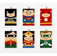 Little Boo-Teek - Loopz Superhero Prints | Gifts for Boys | Childrens Store Online