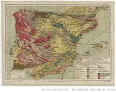 Geological map of Spain (1923) http://europeana.eu/portal/record/9200103/C38490E735AA0007AA8F085AD888B09962CDCB19.html #Oldmaps #HistoryPics