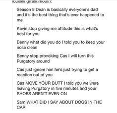 How do you turn a whole purgatory around, Dean?