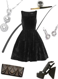 """""""Art Deco Christmas Party Theme"""" by buckley on Polyvore"""