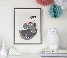 Elephant Love Poster