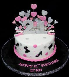 21st birthday cakes for girls 21st Birthday Cake Ideas