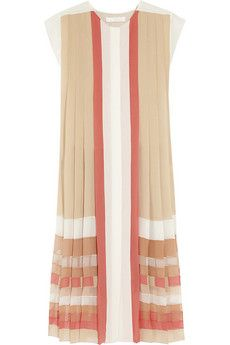 silk dress from Chloé