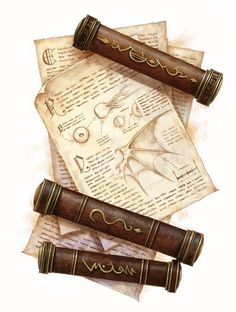 Mysterious Scrolls