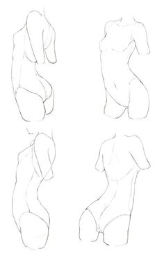 Drawing body anatomy pose reference sketch ideas for 2019 Body Drawing, Anatomy Drawing, Figure Drawing Reference, Anatomy Reference, Art Poses, Drawing Poses, Body Sketches, Art Sketches, Body Tutorial