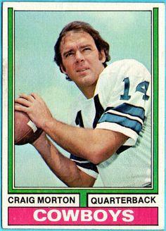 CRAIG MORTON 1974 Topps
