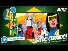Zine Brasil - CANAL ZB #012 - Resenha - Reviews - Liga do Cerrado - Heróis Brasileiros - YouTube
