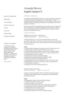 the 1004 best teachers resumes images on pinterest in 2018 teacher