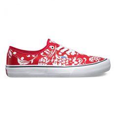 bf7602b78d1f Authentic Pro Core 50th Duke Red White shoes for men by Vans. Vans