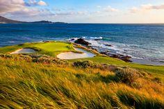 Pebble Beach golf course California #travel #pebblebeach