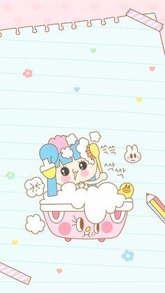 iPhone壁纸 萌物 可爱 背景 套图 韩系 插画 素材ღ ¤̴̶̷̤́‧̫̮ ¤̴̶̷̤̀ 麽麽