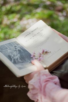 The book I did not get to read as a girl, because my dear Father chose books for me by Robert Louis Stevenson, Joseph Conrad, etc. Old Books, Vintage Books, Antique Books, I Love Books, Books To Read, World Of Books, Book Nooks, Reading Nooks, Simple Pleasures