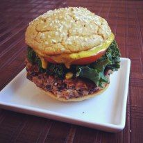 Paleo Bun/Black Bean & Quinoa Burgers - The Kitchen Table - The Eat-Clean Diet®
