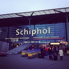The only time I've set foot on continental Europe. Amsterdam Airport Schiphol (AMS) in Schiphol, Noord-Holland Places To Travel, Places To See, Places Ive Been, Continental Europe, Taxi, Four Square, Good Times, Holland, Amsterdam