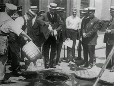 Old Photos from The Days of Prohibition