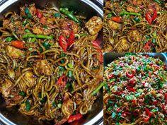 Resepi Mee Goreng Sedap Istimewa Dari Tukang Masak Restoran Malaysian Food, Pasta Noodles, Japchae, Paella, Cooking Recipes, Beef, Ethnic Recipes, Vietnam, Kitchens