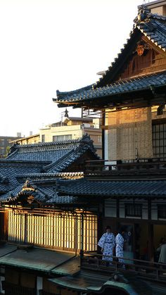 Dogo Onsen Hot Spring Yunomachi in Dogo Matsuyama city, Ehime prefecture, Japan. Ehime, Yokohama, Nagoya, Japanese Architecture, Pavilion Architecture, Sustainable Architecture, Residential Architecture, Contemporary Architecture, Kyoto