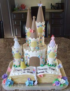 20 Pretty cakes fit for a princess: Fairy tale princess cake