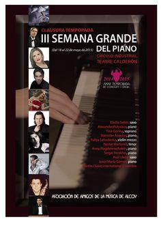 III Semana del Piano en Alcoy 2015