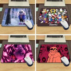 Undertale Cool Fashion Mouse Pad for Size 18x22cm and 25x29cm