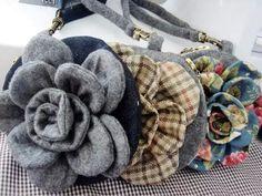 Flor Bolsa Tutorial Vintage