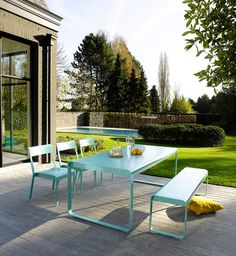 salon de jardin fermob monceau 1 table basse 2 fauteuils living outside pinterest rooftop gardens patios and rooftop