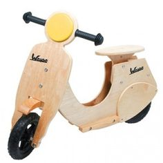 Wooden Vespa for kids by Legler