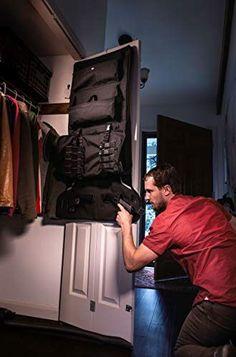 Gun and Rifle Storage Hanger Gun Closet, Closet Hangers, Ammo Storage, Secure Storage, Secret Hiding Places, Man Cave Accessories, Pistol Holster, Desk Toys, Unique Gifts For Men