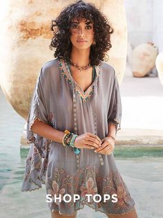 7c70402ba22 Johnny Was | Boho Chic Clothing & Vintage-Inspired Style. Johnny Was · Tunic  Tops