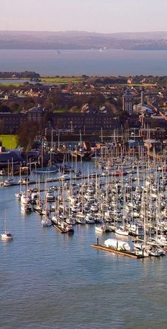 Portsmouth Harbour, England
