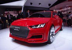 #Audi TT Sportback concept, 2014 Paris Auto Show. See more on Motor Authority